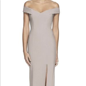 Dessy Off the Shoulder Dress Style 3012 size 6